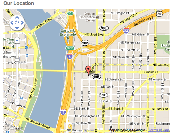 Google map concrete5