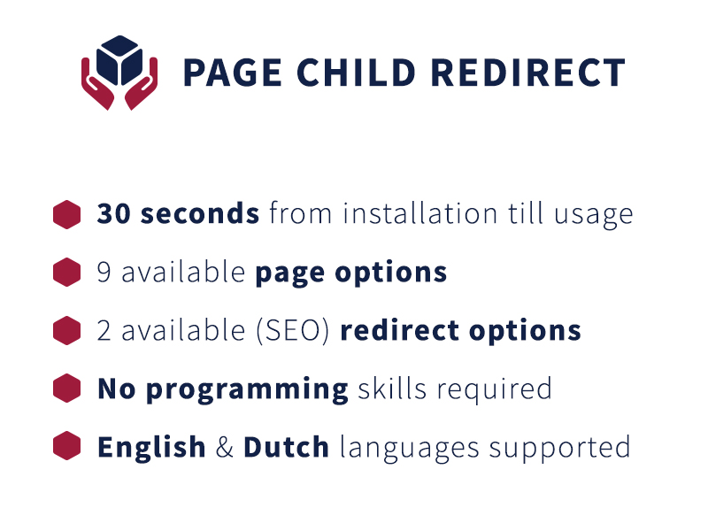 Page Child Redirect - concrete5