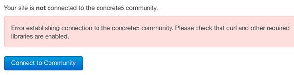 connect error