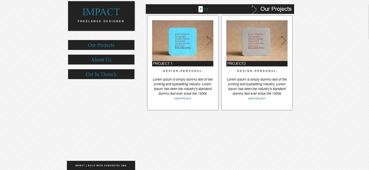 Concrete 5 Themes & Template