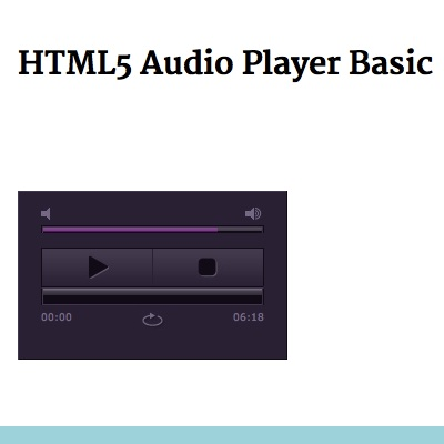 Sj html5 audio player free download