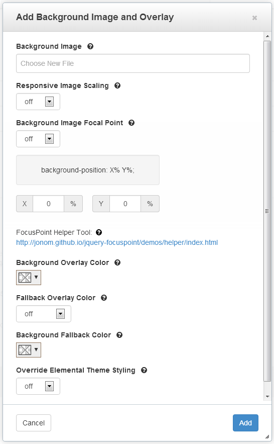 MrKDilkington - Full Screen Background Image and Overlay - concrete5