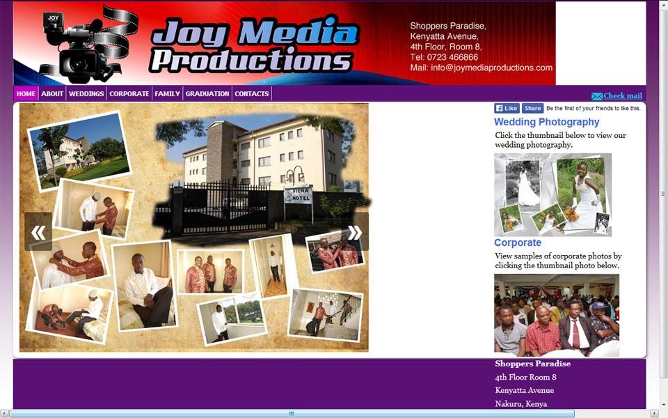 Joy Media Productions - concrete5