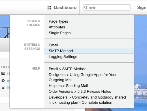 smtp method