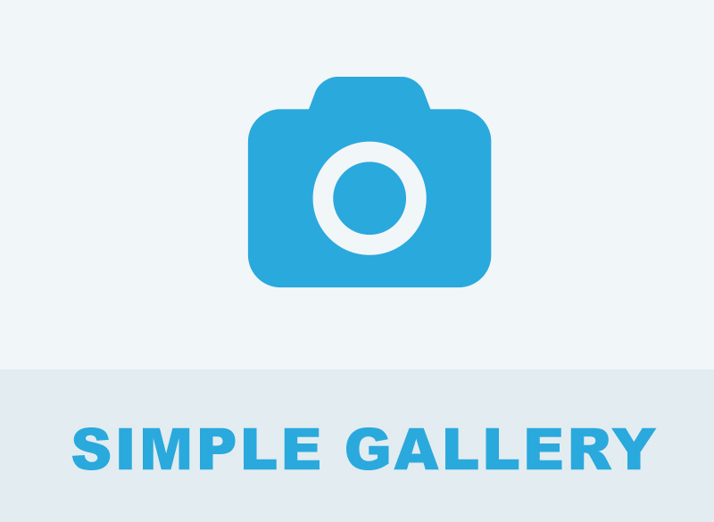 Simple Gallery - concrete5