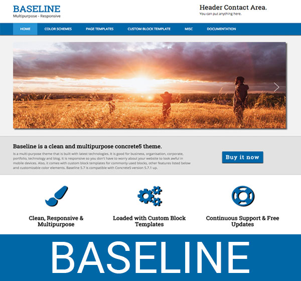 Baseline - concrete5
