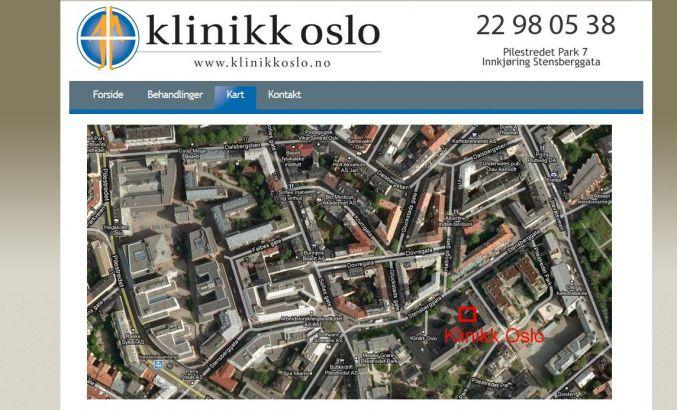 pilestredet park kart Klinikk Oslo AS   concrete5 pilestredet park kart