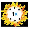 1K Karma - Has at least 1,000 karma points.