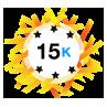 15K Karma - Has at least 15,000 karma points.