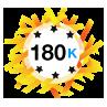 180K Karma - Has at least 180,000 karma points.