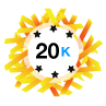 20K Karma - Has at least 20,000 karma points.