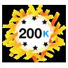 200K Karma - Has at least 200,000 karma points.
