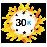 30K Karma - Has at least 30,000 karma points.