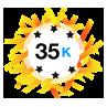 35K Karma - Has at least 35,000 karma points.