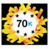 70K Karma - Has at least 70,000 karma points.