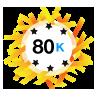 80K Karma - Has at least 80,000 karma points.